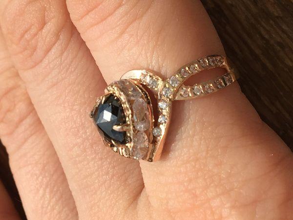 Miss Mary золотое кольцо с бриллиантом! | Ярмарка Мастеров - ручная работа, handmade