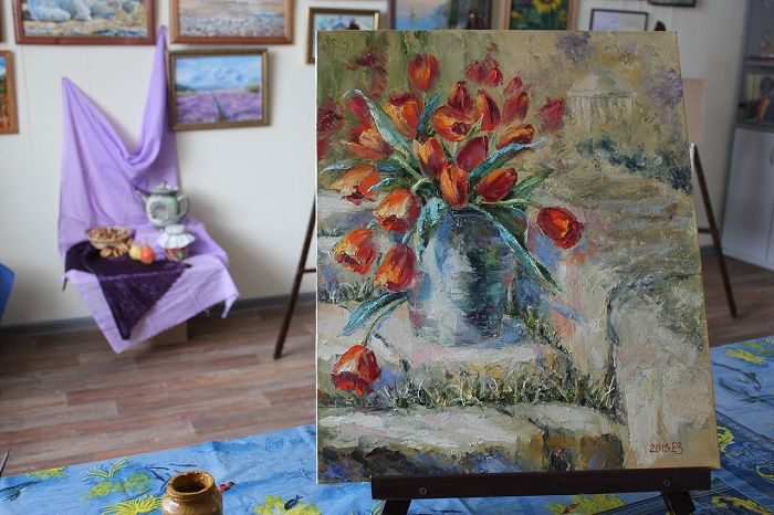 урок по живописи