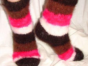 В продажу поступили носки «Радуга Жизни» из собачьей шерсти!». Ярмарка Мастеров - ручная работа, handmade.