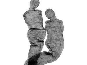 Быть человеком: искусство вязания из проволоки Anne Mondro. Ярмарка Мастеров - ручная работа, handmade.