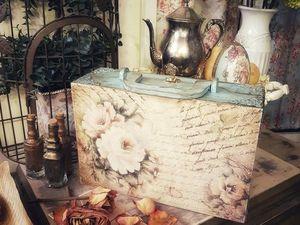 Пример оформления чемодана!. Ярмарка Мастеров - ручная работа, handmade.