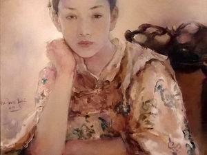 Завораживающие картины китайского художника Hu Jun Di. Ярмарка Мастеров - ручная работа, handmade.