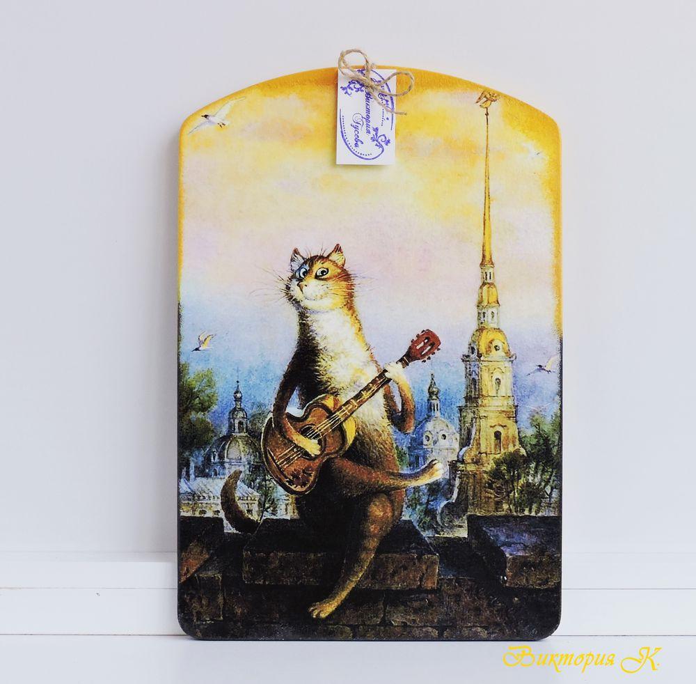 коты, разделочные доски