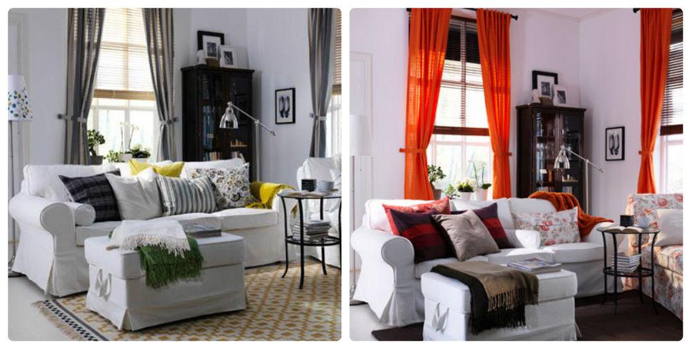 рекомендации, как подобрать подушки, уютный интерьер