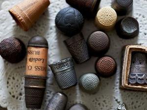 История швейных аксессуаров. Часть 2: наперстки. Ярмарка Мастеров - ручная работа, handmade.