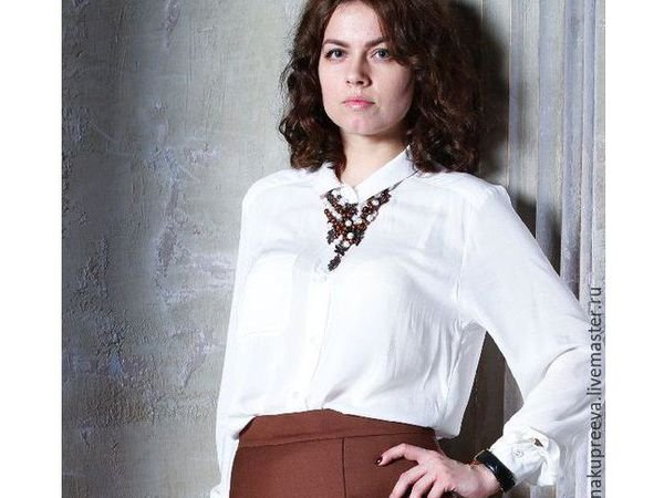 Блузка за 1000 руб Скидка - 55% | Ярмарка Мастеров - ручная работа, handmade