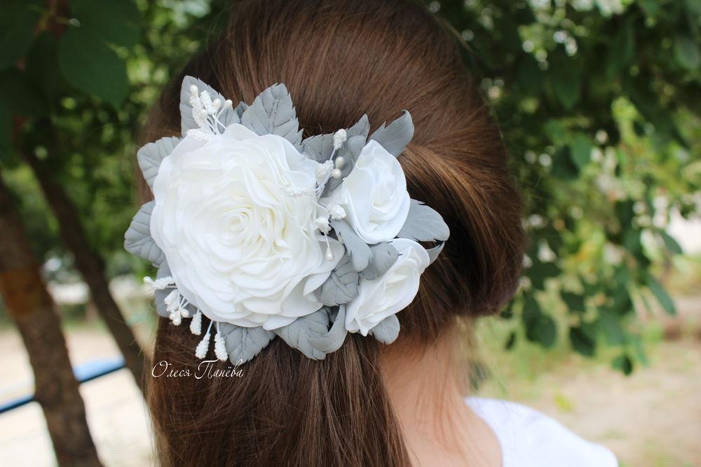 1 сентября, белая роза