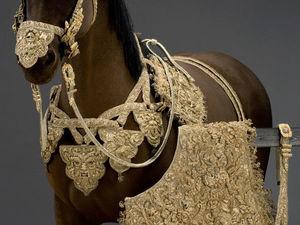 Рукодельное сокровище 17 века: конная упряжь, расшитая золотом. Ярмарка Мастеров - ручная работа, handmade.