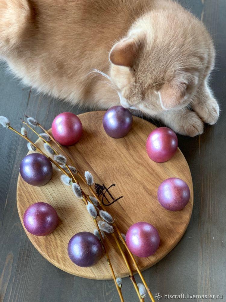 Изготавливаем пасхальную подставку для яиц и кулича, фото № 18