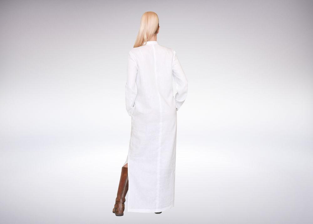льняное платье, авторское платье, длинное платье, длинный рукав, платье ручной работы, длинная рубашка, платье макси