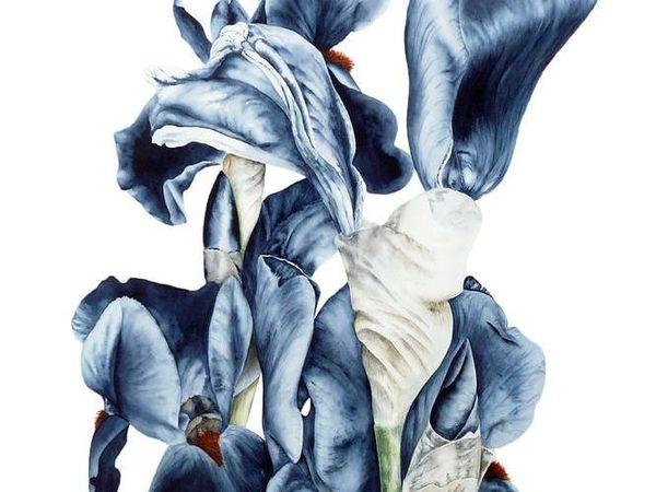 Воздушные цветы художницы Marie Burke | Ярмарка Мастеров - ручная работа, handmade