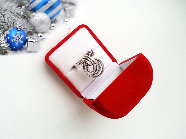 Новинка. Кольцо Charm, серебро 925, 80-е. | Ярмарка Мастеров - ручная работа, handmade