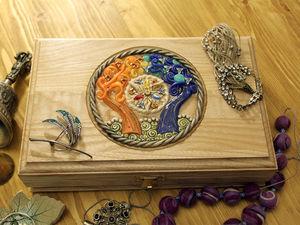 Аукцион на шкатулку с древом Валинора. Ярмарка Мастеров - ручная работа, handmade.