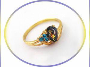 Кольцо с мистик-топазом - роскошный подарок женщине! Скидка!. Ярмарка Мастеров - ручная работа, handmade.