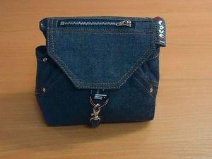 Шьём джинсовый рюкзачок-органайзер. Часть2.. Ярмарка Мастеров - ручная работа, handmade.