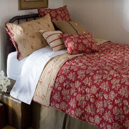 Farmhouse Inspired Bedding.