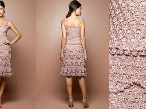 50 Inspiring Stylish Crocheted Dresses by Vanessa Montoro. Livemaster - handmade