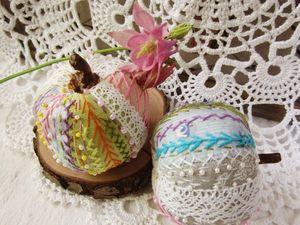 Яблоки лоскутные. Ярмарка Мастеров - ручная работа, handmade.