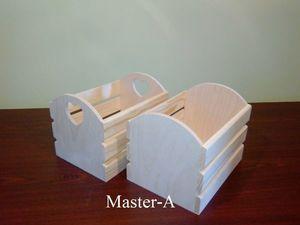 Ящик реечный №2 и №2-1.. Ярмарка Мастеров - ручная работа, handmade.