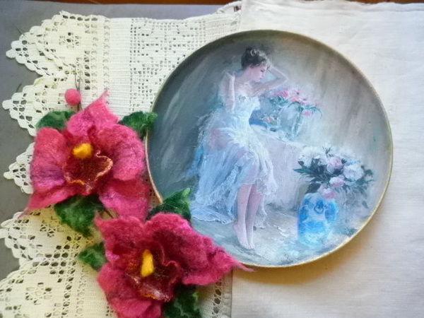 Образцы тарелочек для Ольги. | Ярмарка Мастеров - ручная работа, handmade
