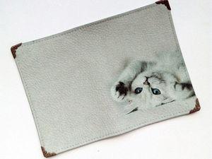 Обложка на заказ для Анастасии. Ярмарка Мастеров - ручная работа, handmade.