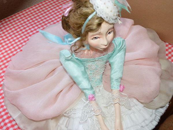 Работа над куклой, закулисье. | Ярмарка Мастеров - ручная работа, handmade