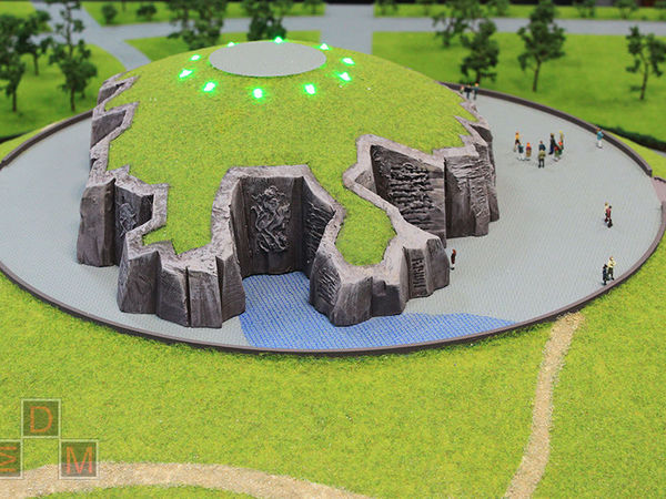 Макет мемориального комплекса для форума в г.Астана (Казахстан) | Ярмарка Мастеров - ручная работа, handmade