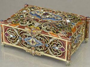 """Анонс аукциона """"Шкатулки, сундучки и прочие коробочки""""  и набор мастеров. Ярмарка Мастеров - ручная работа, handmade."""