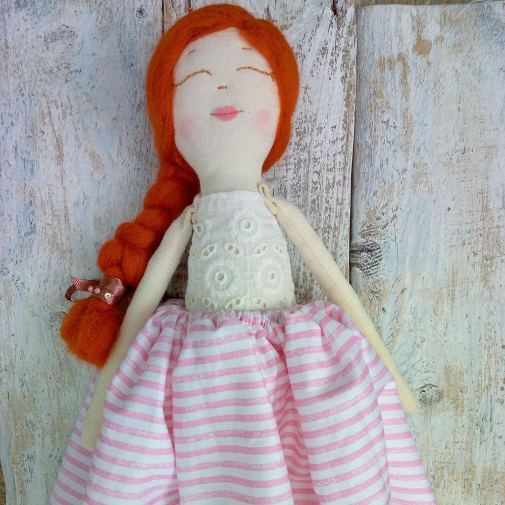 текстильная кукла, куколка, кукла из ткани