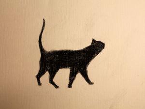 Видео мастер-класс: рисуем котика вместе с детьми. Ярмарка Мастеров - ручная работа, handmade.