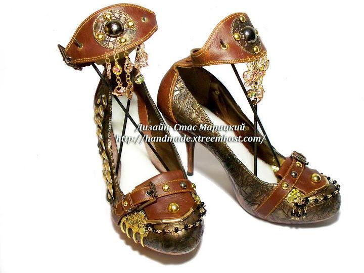 авторская коллекция женской обуви