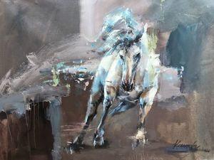 Лошади в живописи. Ярмарка Мастеров - ручная работа, handmade.