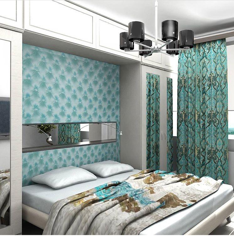 quiet harbor turquoise curtains in interior livemaster rh livemaster com