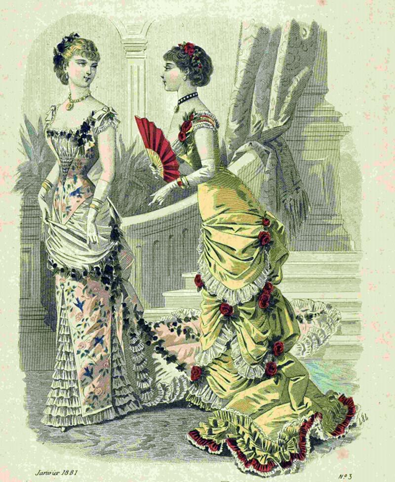 Восхитительная мода конца ХIХ века, фото № 3