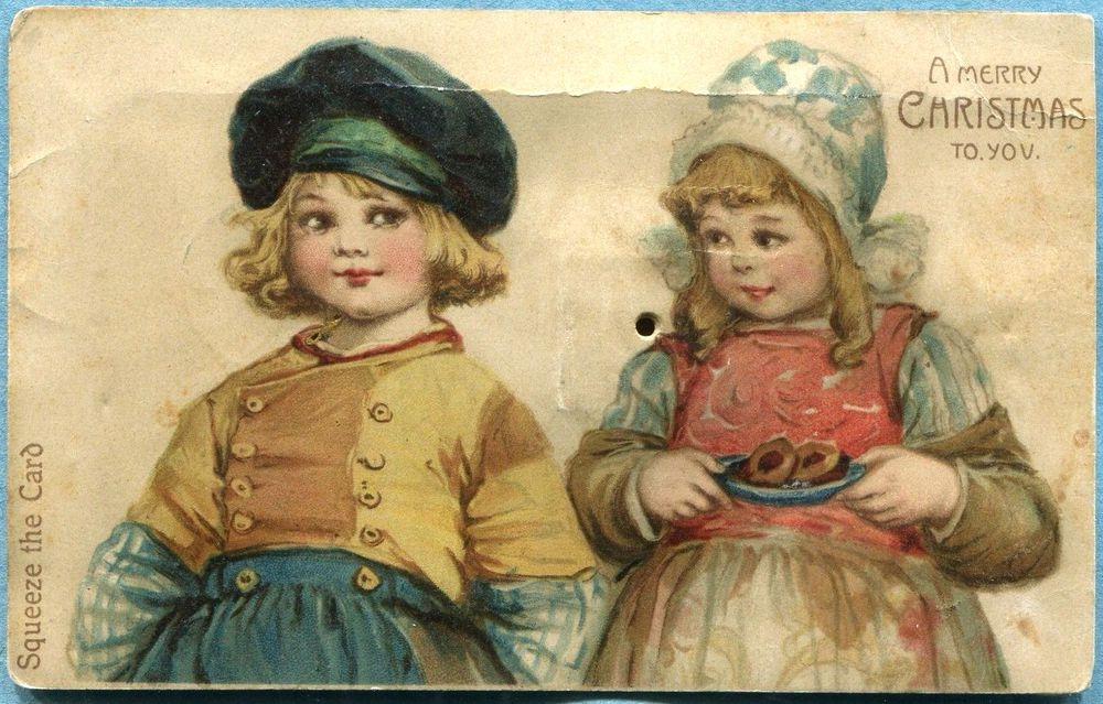 Старинные открытки одежда, для