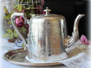 Дополнительные фото антикварного красавца чайника. Ярмарка Мастеров - ручная работа, handmade.