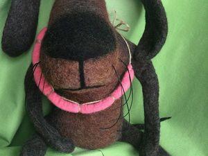 Валяем собачку из мультфильма «Жил-был пёс» к Новому году. Ярмарка Мастеров - ручная работа, handmade.