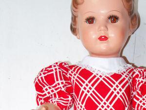 Реставрация целлулоидной  куклы  Schildkrot, дополнительные фото. Ярмарка Мастеров - ручная работа, handmade.