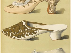 История обуви 18-19 века. Ярмарка Мастеров - ручная работа, handmade.