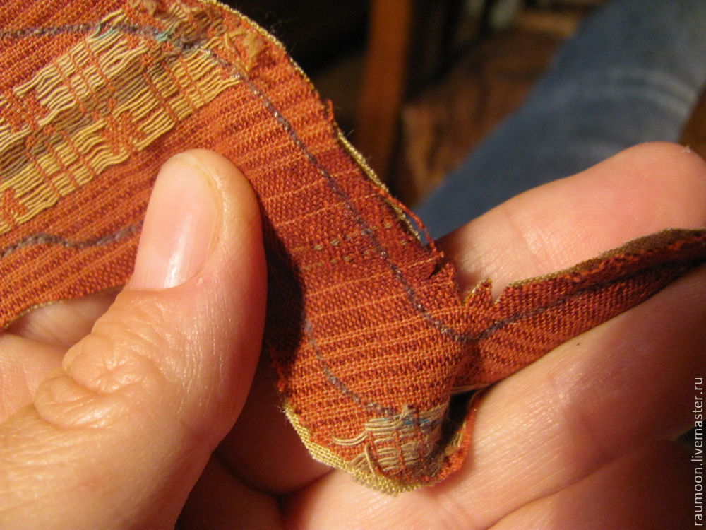 ручное шитье