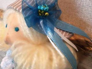 Новая куколка с морскими мотивами. Ярмарка Мастеров - ручная работа, handmade.