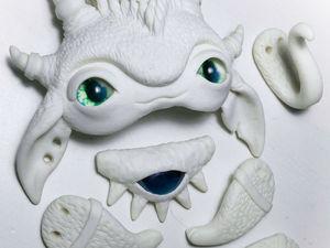 Процесс создания авторской игрушки из полимерной глины. Часть 2. Лепка лапок. Ярмарка Мастеров - ручная работа, handmade.