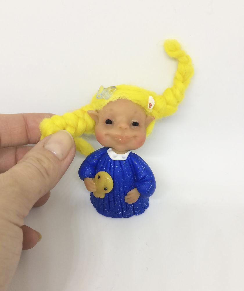 новогоднее предложение, кукла с нуля, предложи свою цену, олененок
