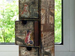 Лондонские лисы и их приключения на моих комодах | Ярмарка Мастеров - ручная работа, handmade