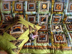 Детское лоскутное одеяло своими руками. Часть 8: окантовка | Ярмарка Мастеров - ручная работа, handmade