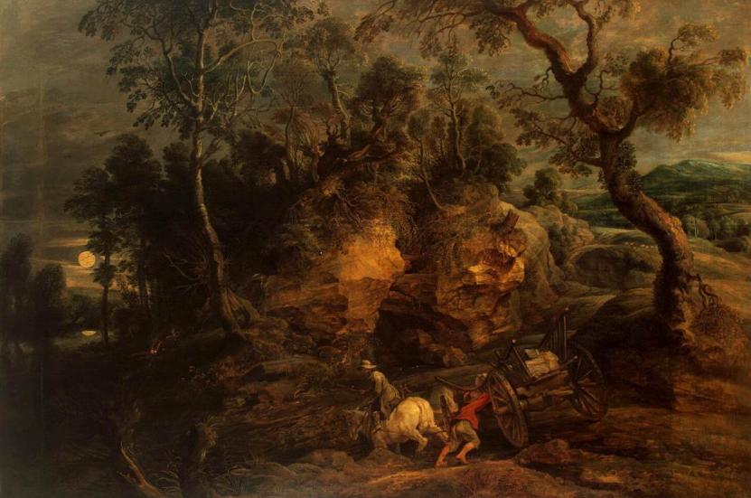 рубенс, пейзажи, барокко, питер пауль рубенс, музей