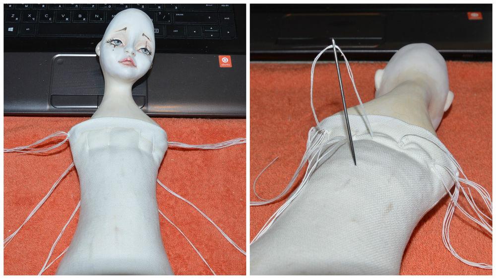 собираем куклу, выкройка тела куклы