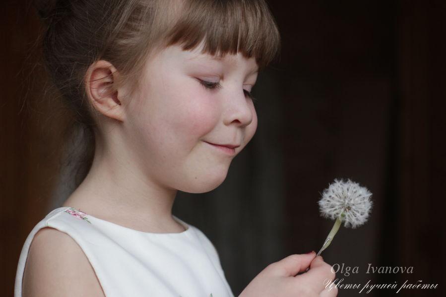 лепка, цветы ручной работы