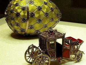 """Музей Фаберже. Пасхальное яйцо """"Коронационное"""". Ярмарка Мастеров - ручная работа, handmade."""