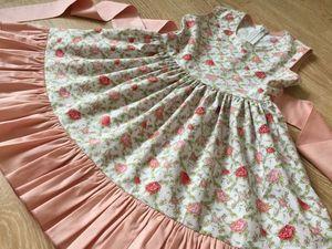 Очень нежное платье в наличии на рост 98/104. Ярмарка Мастеров - ручная работа, handmade.